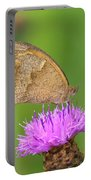 Butterfly On Knapweed Portable Battery Charger