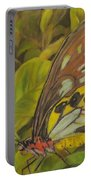 Butterfly On Leaves Portable Battery Charger