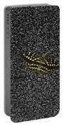 Butterfly On Stone Portable Battery Charger