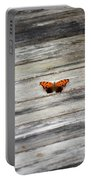 Butterfly On The Dock Portable Battery Charger