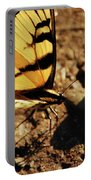 Butterfly On The Rocks Portable Battery Charger
