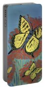 Butterfly Picnic Portable Battery Charger