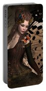 Butterfly Princess Of The Forest 2 Portable Battery Charger
