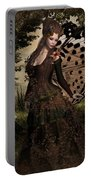 Butterfly Princess Of The Forest Portable Battery Charger