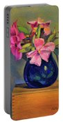 Butterfly Roses Portable Battery Charger