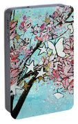 Butterfly Star Magnolia Soulangeana 201825 Portable Battery Charger