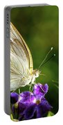 Butterfly Tea Time Portable Battery Charger