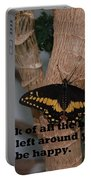 Butterfly Thing Of Beauty Portable Battery Charger