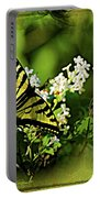 Butterfly Wall Decor Portable Battery Charger