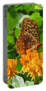 Butterfly Weed Fritillary Portable Battery Charger