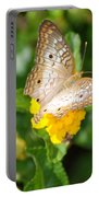 Butterflywith Dots Portable Battery Charger