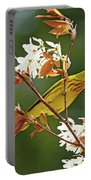Buttery Yellow Warbler Portable Battery Charger