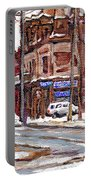 Buy Original Paintings Montreal Petits Formats A Vendre Scenes De Pointe St Charles Cspandau Artist Portable Battery Charger