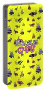 Buzz Off  - Typography Portable Battery Charger