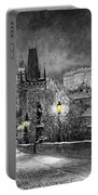 Bw Prague Charles Bridge 06 Portable Battery Charger