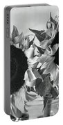 Bw Sunflowers #002 Portable Battery Charger