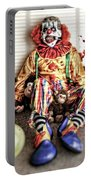 By Blood A King In Heart A Clown Portable Battery Charger