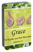 By Grace Portable Battery Charger