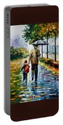 By The Rain Portable Battery Charger