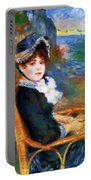 By The Seashore 1883 Portable Battery Charger