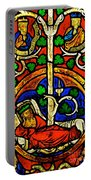 Byzantine Stained Glass Portable Battery Charger