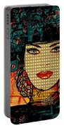 Cabaret Girl Portable Battery Charger