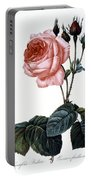 Cabbage Rose Portable Battery Charger