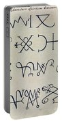 Cabbalistic Signs And Sigils, 18th Portable Battery Charger