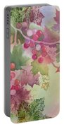 Cabernet Portable Battery Charger by Deborah Ronglien