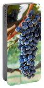 Cabernet Sauvignon Portable Battery Charger by Robert Bales