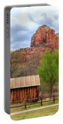 Cabin At Cathedral Rock Portable Battery Charger