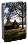Cabin By The Lake Portable Battery Charger