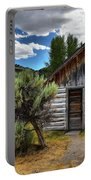 Cabin In The Sagebrush Portable Battery Charger