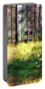 Cabin In The Woods In Menashe Forest Portable Battery Charger