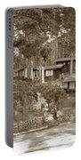 Cabins At Carmel Highlands Inn Circa 1930 Portable Battery Charger