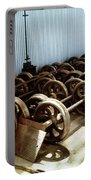 Cable Car Wheels, Repair Shop Portable Battery Charger