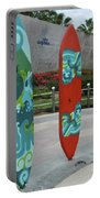 Cabo Surfboard Sculpture 1 Portable Battery Charger