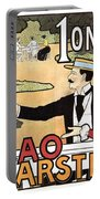Cacao Karstel - Vintage Cacao Advertising Poster Portable Battery Charger
