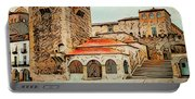 Caceres Spain Artistic Portable Battery Charger
