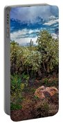 Cactus And Bird Portable Battery Charger