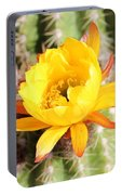 Cactus Bloom 033114d Portable Battery Charger