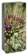 Cactus Buds Portable Battery Charger