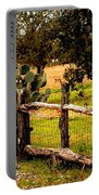 Cactus Fence Line Portable Battery Charger