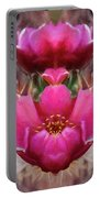 Cactus Flower 07-02 S08 Portable Battery Charger