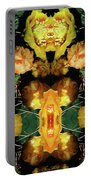 Cactus Flower 08-005 Abstract Portable Battery Charger