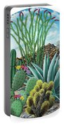 Cactus Garden 2 Portable Battery Charger