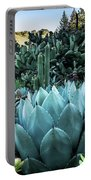 Cactus Garden Portable Battery Charger