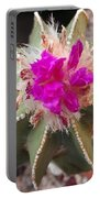 Cactus In Flower Portable Battery Charger