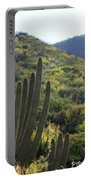 Cactus In The Desert  Portable Battery Charger