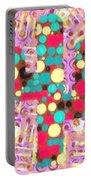 Cactus Pop Art Portable Battery Charger